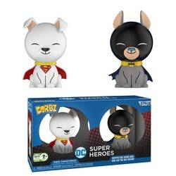 DC Super Heroes - Krypto the Super Dog And Ace The Bat Hound 2 Pack