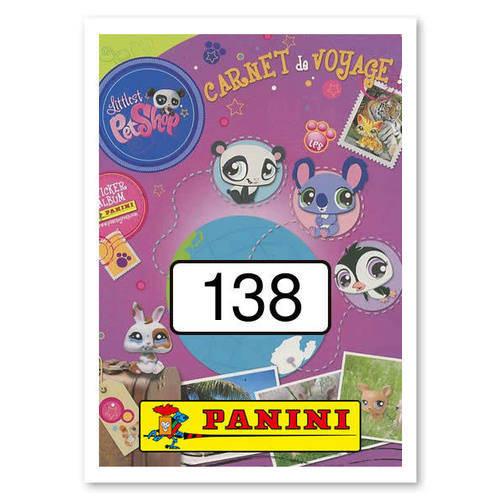 PANINI-AMICI CUCCIOLOTTI Mission amoureux des animaux autocollants Nº 40