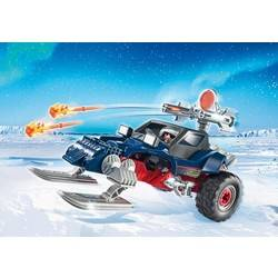 Ice Pirate with Snowmobile