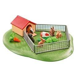 Little animals with enclosure