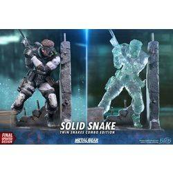 Solid Snake Twin Snakes Combo Edition