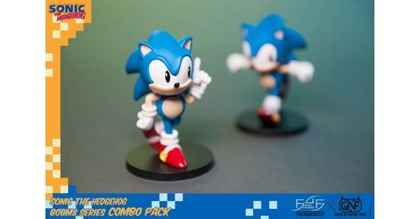 Sonic The Hedgehog Boom8 Series Combo Pack First4figures F4f Action Figure