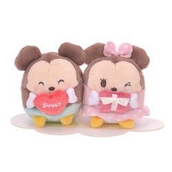 Mickey et Minnie St Valentin 2 Pack