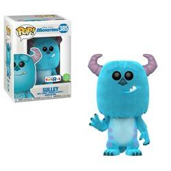 Monsters Inc - Sulley Flocked