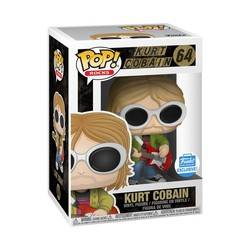 Kurt Cobain with Sunglasses