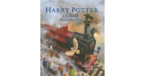 Harry Potter A L Ecole Des Sorciers Illustre Livres