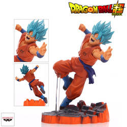 Son Goku Super Sayan God - Dragon Ball Z Scultures Big Colosseum