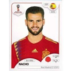 Nacho - Spain Panini Stickers   Panini Football Sticker Albums   FIFA World  Cup Russia 2018 Ref. abe5b27555fe