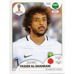 Panini WM 2018 World Cup Russia Mohammed Al-Beraik Saudi-Arabien Sticker 61