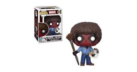 Deadpool As Bob Ross Pop Marvel Action Figure 319