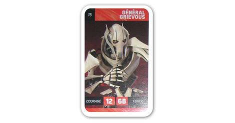 général grievous - carte 15 leclerc : star wars solo