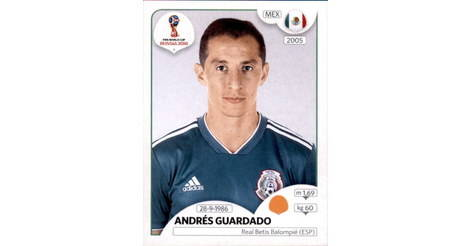 eb2a277f69a Andrés Guardado - Mexico - FIFA World Cup Russia 2018 463