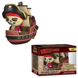 Pirates of The Caribbean - Jolly Roger with Pirate Ship