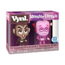 Monster Cereals - Count Chocula + Franken Berry