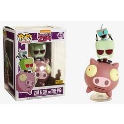 Invader Zim - Zim & Gir on the Pig