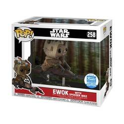 Ewok with Speeder Bike