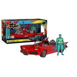 Batman Classic TV Series - Red Batmobile with Batman Green