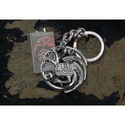 TARGARYEN porte-clés (gris acier) - objet NNXT0046 Noble Collection ... 301c931c571