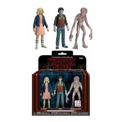Stranger Things - Eleven, Lucas and Mike 3 Pack Chase