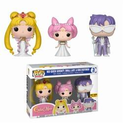 Sailor Moon - Neo Queen Serenity, Small Lady & King Endymion 3 Pack