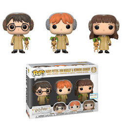 Harry Potter - Harry Potter, Ron Weasley & Hermione Granger 3 Pack