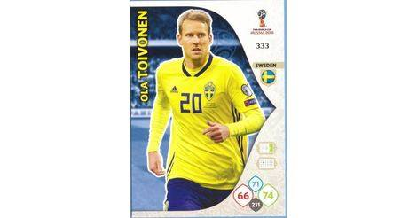 SRFC-12  TOIVONEN SUPERSTAR SWEDEN STADE RENNAIS CARD ADRENALYN FOOT 2015 PANINI