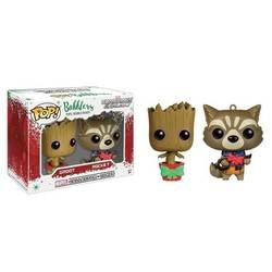 Bobblers -  Groot & Rocket Christmas 2-Pack