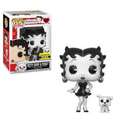 Betty Boop - Betty Boop & Pudgy Black and White