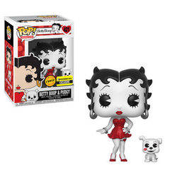Betty Boop - Betty Boop & Pudgy Red Dress