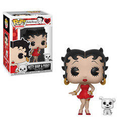 Betty Boop - Betty Boop & Pudgy