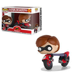 Incredibles 2 - Elastigirl on Elasticycle