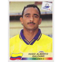 Panini Sticker 456 Carlos Alberto Valderrama Colombia Kolumbien WM 1998 France