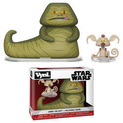 Star Wars - Jabba The Hutt + Salacious Crump