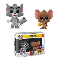 Tom & Jerry - Tom & Jerry Flocked 2 Pack