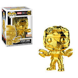 Marvel Studio 10 Years - Star-Lord Gold