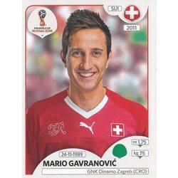 Checklist Mario Gavranovic Panini Stickers