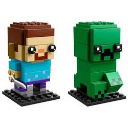 58 & 59 - Steve & Creeper (Minecraft)