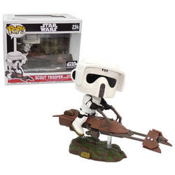 Scout Trooper with Speeder Bike