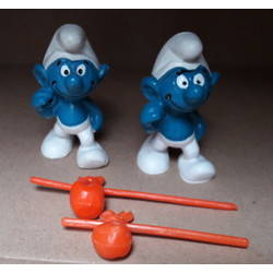 Smurf with stick bag (Bully)