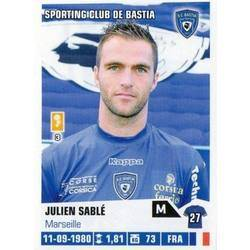 Julien Sable - Sporting Club de Bastia