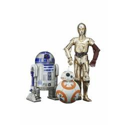 R2-D2 & C-3PO with BB-8 : ARTFX+
