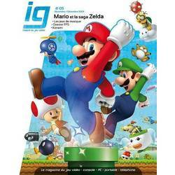 IG Magazine n°5 - Couverture Mario
