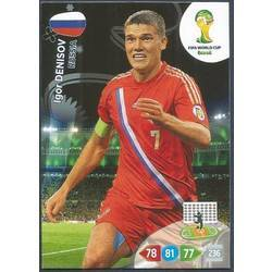 Panini 612 Igor Denisov Russland FIFA WM 2014 Brasilien