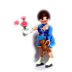Playmobil série 14 femme 9444 ref 36