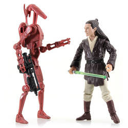 Joclad Danva Vs. Battle Droid