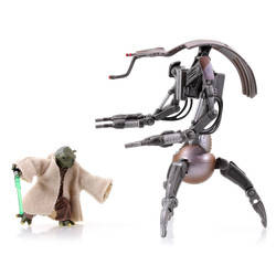 Yoda Vs. Destroyer Droid