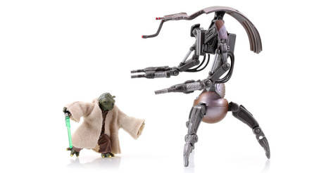 STAR WARS Super Battle Droid The Legacy Collection Action Figure
