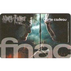 Carte cadeau Fnac Harry Potter