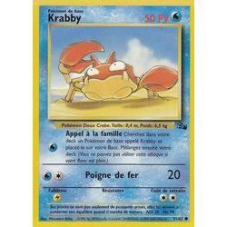Krabby carte pok mon 66 112 ex rouge feu vert feuille - Fossile pokemon diamant ...
