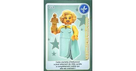 Carte Lego Auchan Livre.La Starlette D Hollywood Cartes Lego Auchan Cree Ton Monde 070